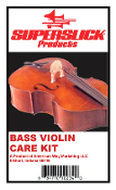 Superslick Bass Violin Care Kit