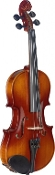 Stagg Maple Violin w/ standard-shaped soft-case, bow and rosin