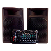Nady Audio PSS300 8 Channel Portable PA System