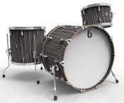 "British Drum Co ""Legend Club 22"" 3-piece, Carnaby Slate"