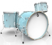 "British Drum Co ""Legend Club 22"" 3-piece, Skye Blue"