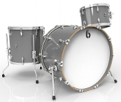 "British Drum Co ""Legend Club 22"" 3-piece, Winchester Grey"