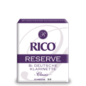 Rico Reserve German Bb Clarinet Reeds