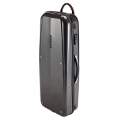 GL CASES - GL Polycarbonate Cases, Silver, Tenor Saxophone