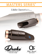 "Drake - Eddie Daniels ""Open Secret"" Tenor Mouthpiece"